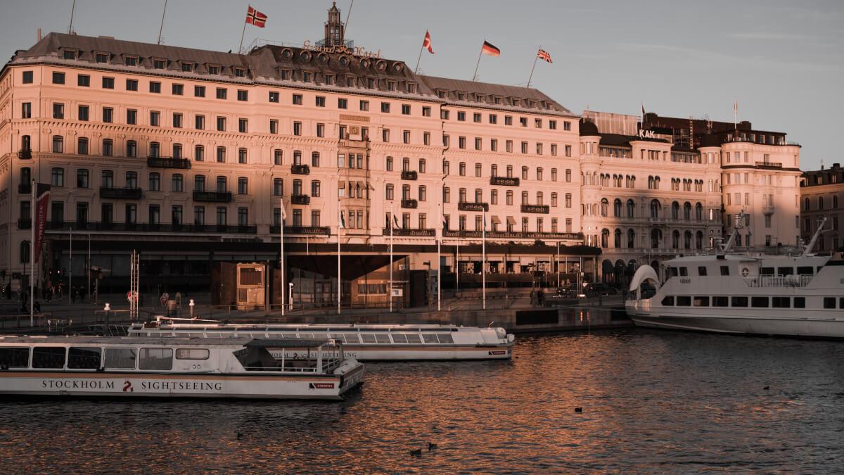 Spadag på Grand Hotel